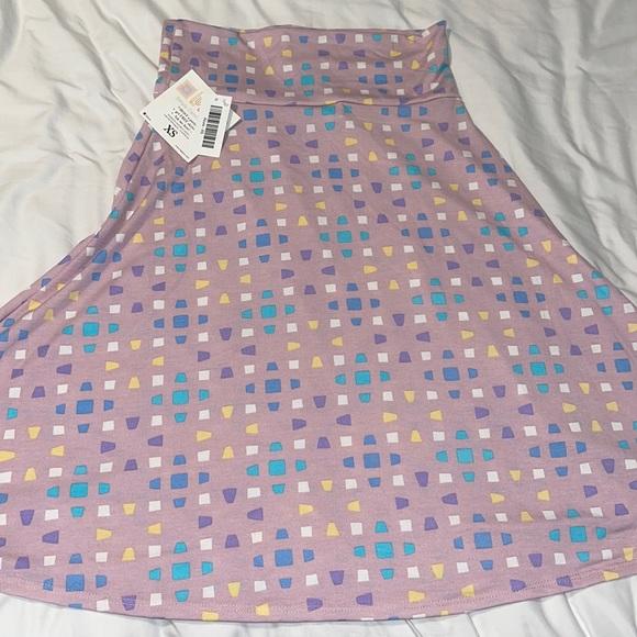NWT LulaRoe Azure Skirt XS